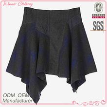 Kadın giyim giyim eşyası doğrudan fabrika oem/ODM üretim son tasarım rahat günlük giyim kız etek giyen