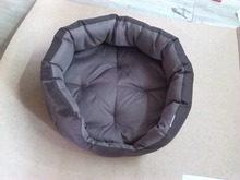 High Quality Waterproof 500d Coffee Oxford Fabric Luxury Pet/Dog Bed