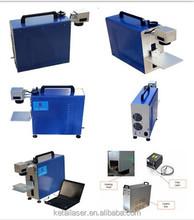 Metal/ceramica/vetro marcatura macchina portatile di marcatura laser a fibra machinerotary macchina della marcatura