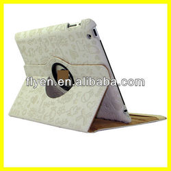 Cute Lovely 360 Rotating Stand Case For iPad 4 3 2
