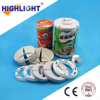 Highlight AM 58khz retail alarming security EAS tag for milk powder can
