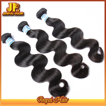 JP Hair No Shedding Virgin Cheap Weave Remy Human Hair Weft Color