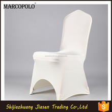 New product of shiny spandex cheap wedding chair covers/lycra chair cover/cheap wedding chair covers