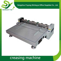 factory supply hot sale die cutting and creasing machine