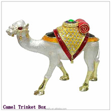 China Manufacturer 2015 Trending New Products Quality Craft Jewelry Box Camel Trinket Box QF1777-001