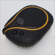 High capacity 7800mAh waterproof shockproof drop resistance solar power bank charger for iPhone