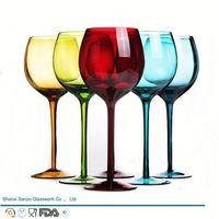 Sanzo Handmade Glassware Manufacturer wine glass crate
