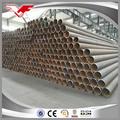 De tubos de ferro preto sch40