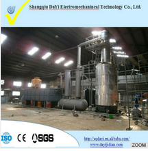Factory Directly! the newest generation continuous used motor oil recycling plant with 85% -95% diesel oil output