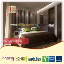 Pina modern 3 star hotel model furniture bedroom