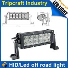9-32V DC 36W 12W*3 pcs LED work light combo headlight for offroad buggy, rav4, 4wd, racing car LED headlight