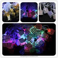 Christmas holiday decoration LED gold box light