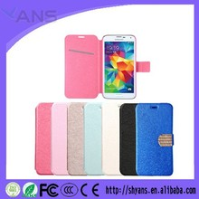Cheap Flip Cover leather Crystal Wallet Style Mobile Phone Case For Iphone 4 4s