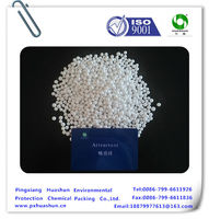 Activated alumina absorption in producing hydrogen perixide (H2O2)