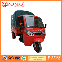Peru Heavy Load Water Cooled Gasoline Cargo Motorized 300cc Four Wheel Motorcycle Price
