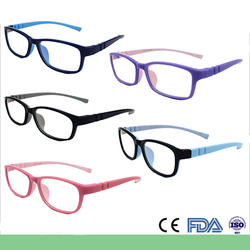 Soft flexible stock kids silicon glasses frame