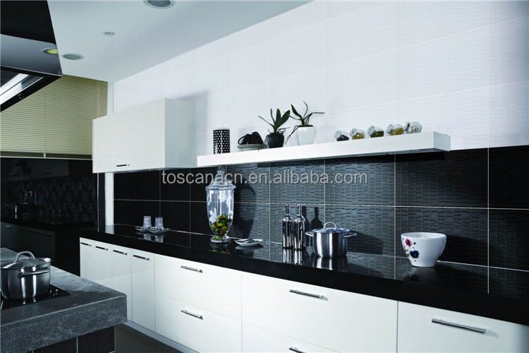 Zwart Witte Tegels Keuken : Zwarte tegel glitter, zwarte en witte keuken tegels tegels product