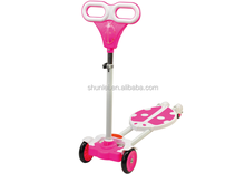 Hot sale Mini swing scooter,Mini frog scooter, Four-wheel Kick Scooter