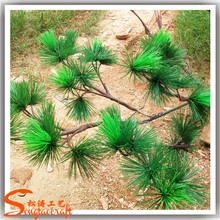 wholesale artificial potted pine needle christmas tree branches