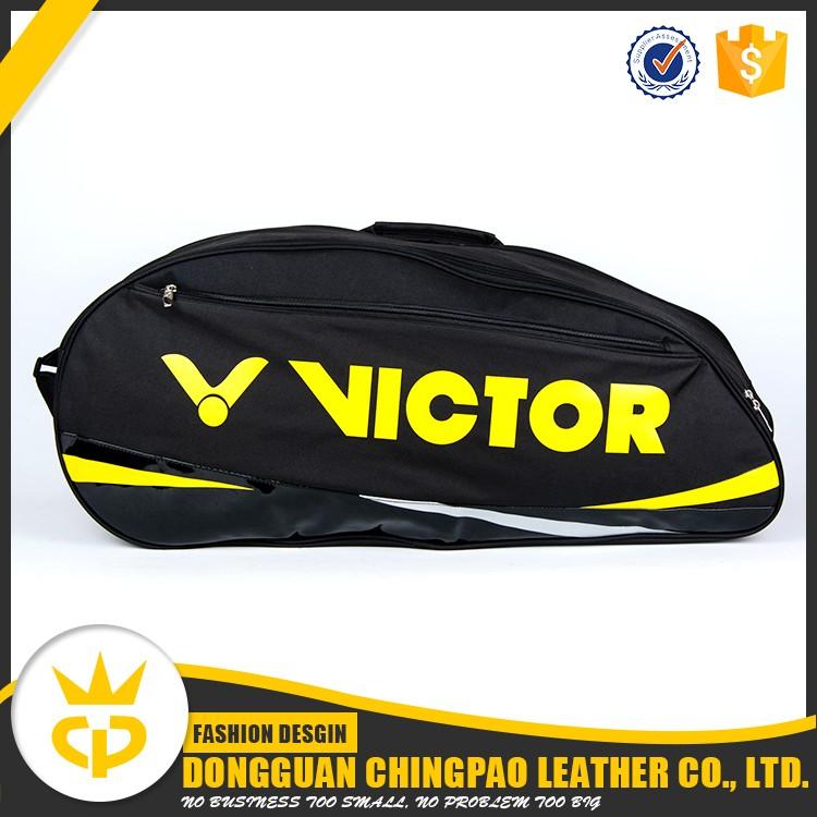 Logo personnalisé polyester badminton raquette sac