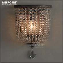 American Vintage wall lamp art deco crystal wall lamp light fixture MD2844