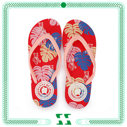 China 2015 fashion beach rubber flip flops