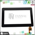 Pantalla táctil de 4.3 pulgadas g + g estructura multi touch panel de la pantalla táctil