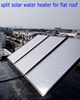 hot sale solar water heater parts with flat panel solar collector CE
