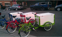2015 new model hot sale ice cream cargo bike for sale adult tricycle