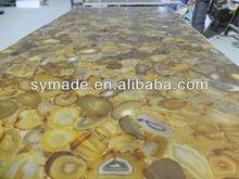 Brown agate slab/ semi precious stone / agate tile