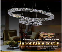 Suspension Led light mosaic crystal MD8825-64W (D800mm/D600mmXH30mm)