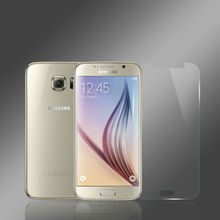 Wholesale asahi material 2.5D curved edge 9h hardness mobile phone tempered glass screen protector for Samsung S6
