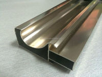 aluminum extrusions profile for window screen
