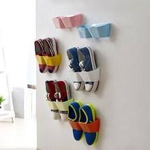 Wall Mounted shoe holder / wall sticker shoe rack / plastic shoe rack