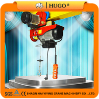 Large Loads Lowheadroom Mini Electric Wire Rope Hoist