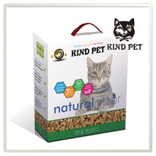 Pet products Natural pine wood cat litter
