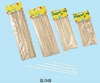 flat thin bamboo sticks 50cm