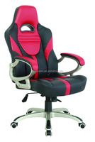 Y-2899 Modern Style Red and Black Leather Swivel Sport Seat Racing Office Chair For Home And Office Use