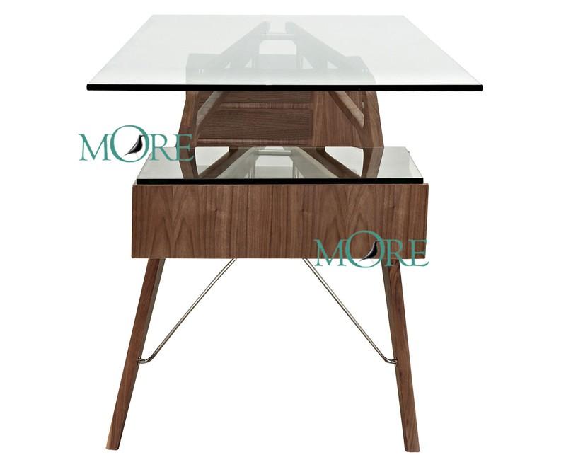 carlo mollino cavour schreibtisch schreibtisch glas tisch wohnzimmer schreibtisch schreibtisch. Black Bedroom Furniture Sets. Home Design Ideas