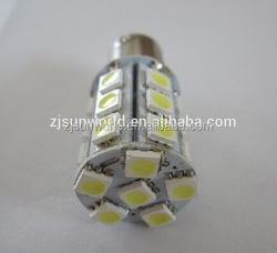 China manufacture 12V automitive 5050 SMD BA15S auto light