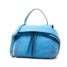 New products china supplier leather women's fashion bag designer brand handbags ladies 2015