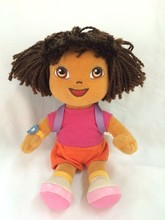Dora the Explorer Plush Toy soft doll ,moving toy doll for kids