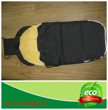 Merino sheepskin sleeping bag for baby