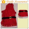 Latest fleece pet christmas dresses dog christmas costume