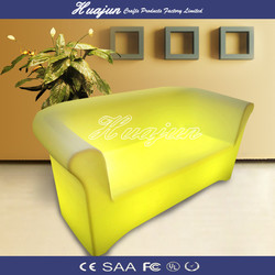 Hot sale modern LED sofa for couple of person