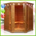 2015 venta caliente combinación de ducha sauna de infrarrojos GW-508