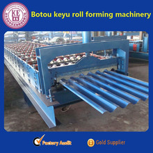 cnc plat sheet roll forming machine used for roof