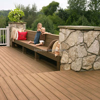 cheap pvc wood outdoor floor decking designs