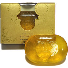 oro 24K blanqueo cara baño jabón
