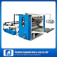 High quality automatic 380V high speed z folding paper towel machine